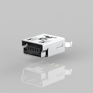 UMBF-051VXCB-CF1108 MINI USB B Type 5Pin Female DIP